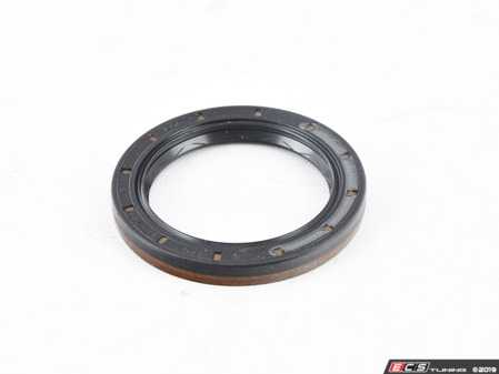 ES#3450010 - 02Q409189A - Front Axle Flange Seal - Priced Each - Seals the connection between the axle flange and transmission - Corteco - Audi Volkswagen