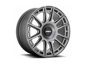 "ES#3693590 - r158198543+45KT1 - 19"" OZR - Set Of Four - 19x8.5, 5x112, ET45 - Matte Anthracite Finish - Rotiform - Audi Volkswagen"