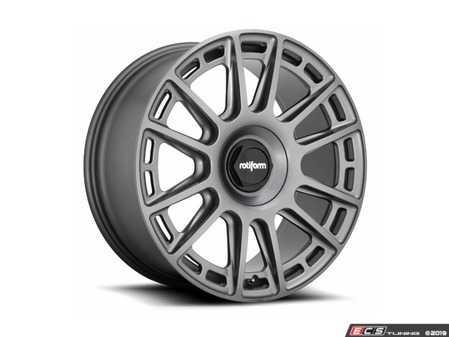 "ES#3693589 - r158198543+45KT - 19"" OZR - Set Of Four - 19x8.5, 5x112, ET45, 66.56CB - Matte Anthracite Finish - Rotiform - Audi"