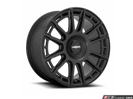 "ES#3693593 - r159198543+45KT1 - 19"" OZR - Set Of Four - 19x8.5, 5x112, ET45 - Matte Black Finish - Rotiform - Audi Volkswagen"