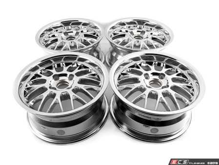 "ES#3677757 - 4x100beymesh2KT - 15"" Beyern Mesh Square Wheel Set - Chrome - Classic German tuner styling from an original aftermarket wheel manufacturer. 15x7"" ET27 4x100 57.1cb - Beyern Wheels - BMW"