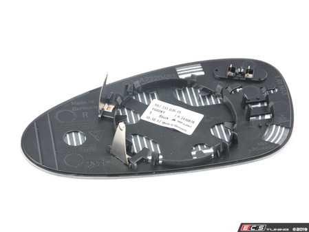 ES#3184847 - 99773103615 - Heated Door Mirror Glass - Blind Spot  - Right side fitment - Genuine Porsche - Porsche
