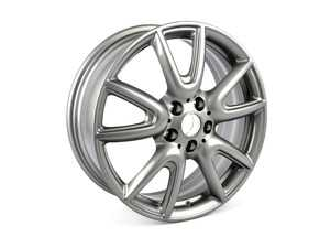 "ES#3029582 - 36106864388 - 534 MINI Double Spoke Wheel 18"" (5x112) Ferric Gray - Priced Each - 7JX18 ET:54 - Genuine MINI - MINI"
