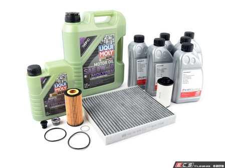 ES#3678607 - 06l1155KT11 - 40K Service Kit - Featuring service parts for oil change, cabin filter, and DSG. - Assembled By ECS - Volkswagen