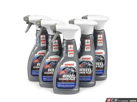 ES#3691608 - 230241KT - Wheel Cleaner PLUS 500mL - 5-pack - Safe for use on all wheels types and works stronger and faster than Full Effect - SONAX - Audi BMW Volkswagen Mercedes Benz MINI Porsche