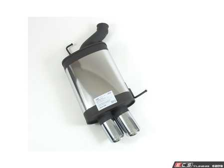 ES#3674789 - RM0875100556 -  Remus Muffler - Twin 84mm Angled Tips  - *SCRATCH AND DENT ITEM* - Remus - BMW