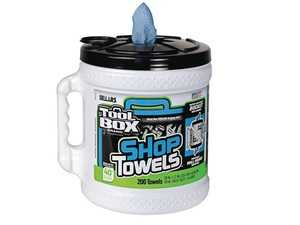 ES#3698501 - 64928 - Big Grip Bucket Blue Shop Towels - Keep your the grease to your work area and not track it in your vehicle or your home - ToolBox - Audi BMW Volkswagen Mercedes Benz MINI Porsche