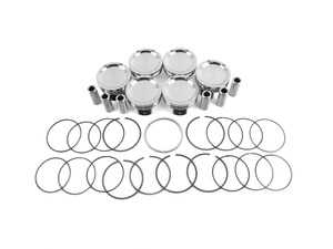 ES#3690551 - je297171 - Pistons (9:1) - Performance pistons for the enthusiast looking to bore out their engine and maintain stock compression at 9:1 - JE Piston - BMW