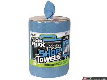 ES#3698503 - 56147 - Big Grip Bucket Blue Shop Towels Refill - Don't forget to refill! Don't be forced to use something nice to wipe your hands with - ToolBox - Audi BMW Volkswagen Mercedes Benz MINI Porsche
