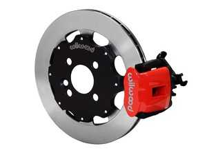 ES#3546973 - 140-10885-R - Wilwood Dynapro Radial4 / MC4 Rear Kit 11.75 Red - Featuring single piston calipers, 2 piece rotors, stainless brake lines, and performance brake pads - Wilwood - MINI