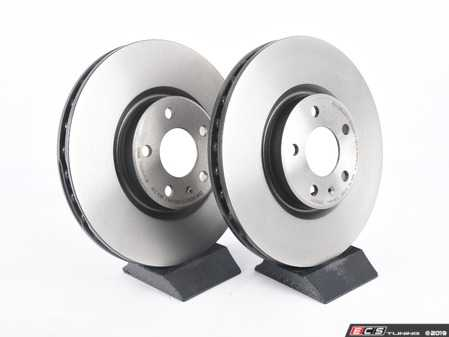 ES#3184545 - 8K0615301AKT35 - Front & Rear Brake Service Kit - Featuring Brembo rotors and Stop Tech pads - Assembled By ECS - Audi