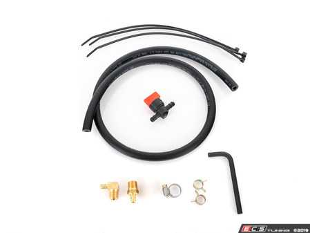 ES#3698456 - 003779ECS11 - ECS Tuning Universal Catch Can Drain System - Make draining your ECS Catch Can simple with this comprehensive kit - ECS - Audi Volkswagen