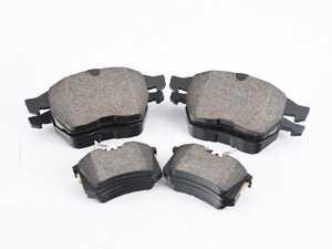 ES#2677673 - 1J0698151MKT - Front & Rear Brake Pad Set - Vaico - Semi metallic brake pads offering great bite and no noise - Vaico - Audi Volkswagen
