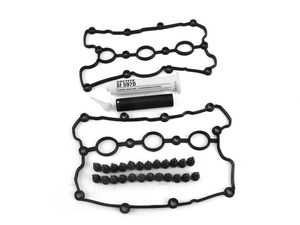 ES#3651497 - 06e103483PKT5 - Complete Valve Cover Gasket Kit - Includes gaskets, hardware, and silicone sealant for an all-inclusive service kit - Genuine Volkswagen Audi - Audi