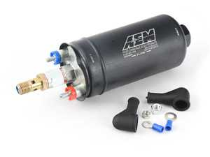 ES#3691427 - 50-1009 - 400LPH High Flow Fuel Pump (Metric Fittings) - Designed for high performance naturally aspirated and forced induction EFI vehicles - It can be installed externally or in-tank using optional hardware that is sold separately - AEM - Audi Volkswagen