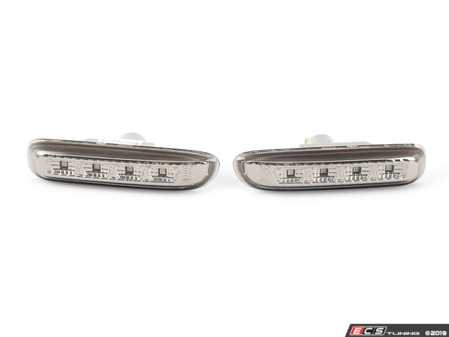 ES#3469268 - FKSBXLBM12017 - Front Side Marker Set - Smoked with LED's - Add a new look to your BMW! - FK - BMW