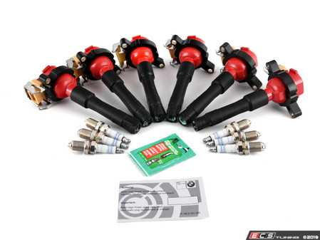 ES#3677674 - 12131703228pKT - Performance Ignition Service Kit - Everything you need to service your ignition system including Bosch Platinum+4 spark plugs and BAV Auto ignition coils - Assembled By ECS - BMW