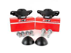 ES#3698718 - 016554ECS02-03KT - ECS Heavy Duty Rear Shock Mounts - With Install Hardware - Upgrade to a more durable rear shock mount without sacrificing comfort! Improve longevity and ride control all at once. - ECS - Audi Volkswagen