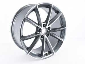 "ES#3698978 - 654-3sd - 19"" Style 654 Wheel - Single Wheel - *Scratch And Dent* - *Please see description prior to ordering* 19x8.5, ET42, 5x112, 66.6CB - Gunmetal/Machine Face - Alzor - Audi Volkswagen"
