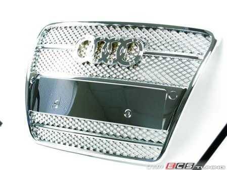 ES#250892 - FKSG33209-2 - Sport Mesh Grille Kit - Chrome - Chrome mesh grille for your A6 - FK -