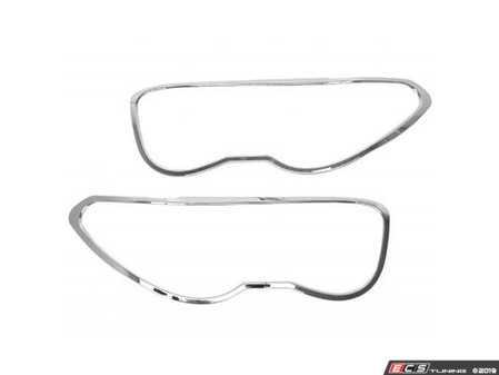ES#3676339 - HLR-E65 - Headlight Trim - Chrome - Bavarian Autosport - BMW