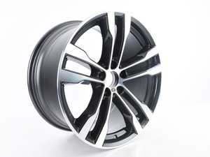 "ES#3706334 - 36117846788sd - 20"" M Double Spoke Style 468 Wheel - Priced Each - *Scratch And Dent* - 20x10 et40 - Genuine BMW - BMW"
