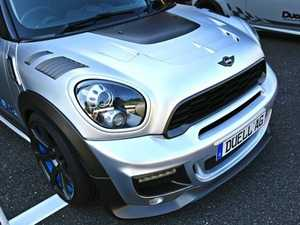 ES#3706496 - R60CB1.1FRP - Duell AG R60 R61 Krone Edition V1. Cooling Bonnet - FRP - Straight from Japan aggressive whole hood with side vents that has an import tuner design; whole front hood. - Duell Ag - MINI