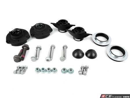ES#3698716 - 016554ECS02-01KT - ECS Heavy Duty Cup Kit/Coilover Installation Kit - Includes all the necessary suspension parts that should be replaced while installing new shocks/struts, cup kit or coilovers - ECS - Audi Volkswagen