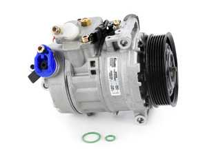 ES#3492432 - 64529122618 - A/C Compressor - Keep your BMW cool with this new compressor - Nissens - BMW