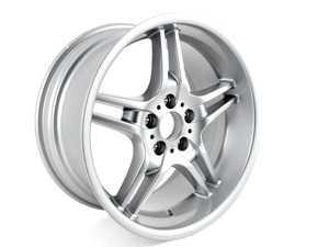 "ES#64819 - 36116761999 - 19"" Double Spoke Style 125 Wheel - Priced Each - 19x9.5 ET18 72.6mm CB - Genuine BMW - BMW"