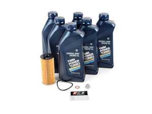 ES#3524715 - 11428507683KT1 - Genuine BMW Oil Change Kit / Inspection I - Everything needed for an oil service including Genuine BMW 0w-30 Twin Power Turbo oil - Includes BMW LL-12 FE oil designated for diesel engines - Genuine BMW - BMW
