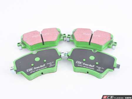 ES#3663703 - DP22245 - Front GreenStuff Performance Brake Pad Set - Upgrade to EBC pads in your MINI - EBC - MINI