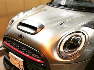 ES#3706861 - F56BSCMA - Duell AG F55-F57/F60 Carbon Fiber Hood Scoop - Matte - Straight from Japan aggressive rear wing that has an import tuner design,Carbon Fiber for the Duell AG Hood - Duell Ag - MINI