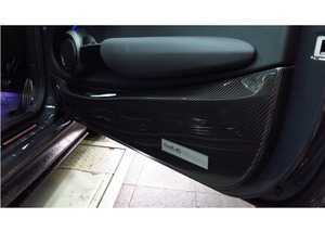 ES#3706862 - F56IDPCGLHI - Duell AG F56-F57 Carbon Fiber Inner Door Panel Covers (Pair) - Gloss/Hiraori (Normal Carbon Fiber Weave) - Straight from Japan aggressive door panel that has an import tuner design, Carbon Fiber which attaches to the bottom side on the inside door - Duell Ag - MINI