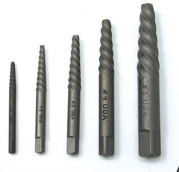 ES#2939895 - CTA9040 - 5PC SCREW EX KIT SPIRAL-TYPE - CTA Tools - Audi BMW Volkswagen Mercedes Benz MINI Porsche