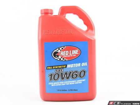 ES#2847833 - 11705 - 10W60 Motor Oil - 4/1gallon - Redline -