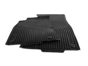 ES#2100349 - 8K1061221A041 - European All Weather Floor Mats - Black - Great looking & performing mat for your S4 - Genuine Volkswagen Audi - Audi