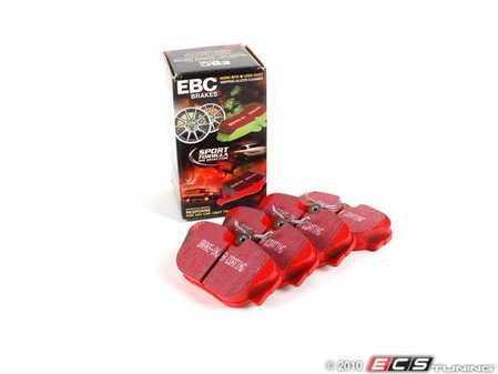 ES#520596 - DP3779C - Front RedStuff Performance Brake Pad Set - A high performance street pad, featuring Kevlar technology - EBC - BMW