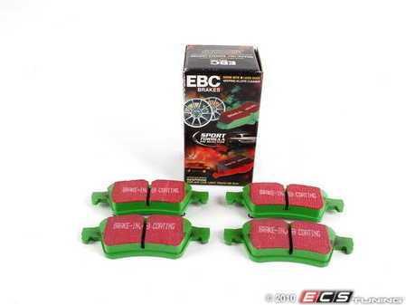 ES#519808 - DP21354 - EBC Greenstuff Sport pad  - Saab/Volvo - Rear - EBC -