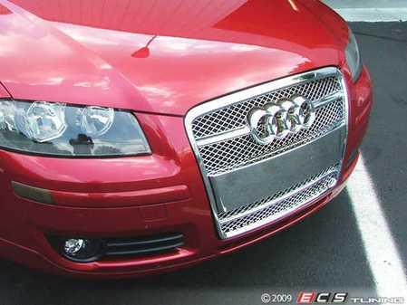 ES#250868 - FKSG33201-2 - Audi A3 Sport Mesh Grille Kit - Chrome - Chrome mesh grille for your Audi A3 - FK -