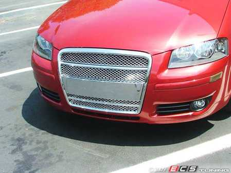 ES#250866 - FKSG33201-1 - Audi A3 Sport Mesh Grille Kit - Chrome - Badgeless chrome mesh grille for your Audi A3 - FK -
