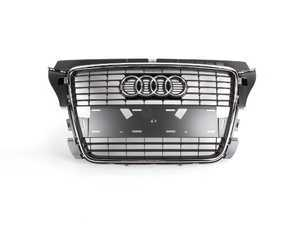ES#2165402 - 8P0853651P1QP - Grille Assembly - Stone Grey - Direct replacement grille for your A3 - Genuine Volkswagen Audi - Audi