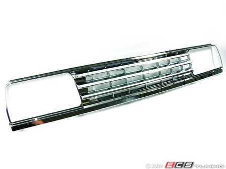 ES#250923 - FKSG257 - Badgeless Grille - Chrome - Stand apart from the rest of the badgeless grille crowd with this FK all chrome grille - FK - Volkswagen