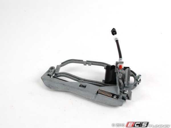 ES#2091846 - 51218243615 - Door Handle Carrier - Left - Front door handle carrier, which to the outside door handle mounts - MTC - BMW
