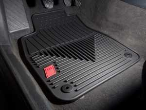 ES#3914 - ZAW179004BLK - All-Weather Rubber Floor Mats - Set Of Four - Black With 'Audi Sport' Logo - Extremely durable all weather mats set to protect your carpet - Genuine Volkswagen Audi - Audi