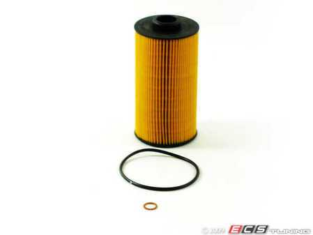 ES#250627 - 11427510717 - Oil Filter Kit - Includes all related gaskets - Hengst - BMW