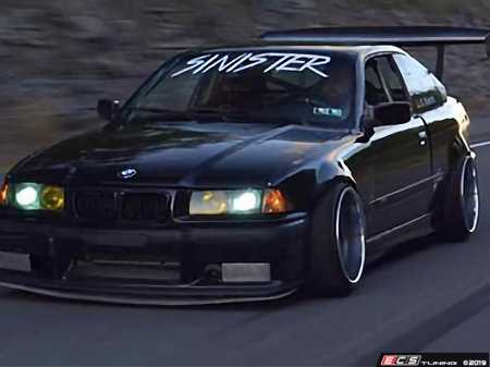 ES#3714102 - 707701 - E36 Coupe Overfender Kit - Full Kit - Add additional wheel clearance with aggressive styling and durability - Big Duck Club - BMW