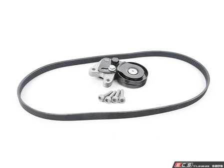 ES#3691276 - 079903133rktKT2 - Accessory Belt Kit - Belt service kit includes belt, tensioner, & hardware to keep your belt where it should be! - Assembled By ECS - Audi