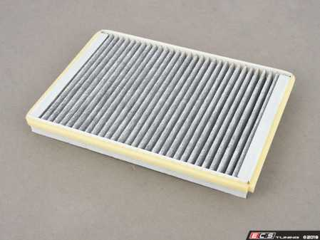 ES#3676696 - 4B0819439C - Charcoal Lined Cabin Filter / Fresh Air Filter - The activated charcoal filters odor from reaching the cabin - Hengst - Audi