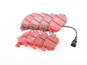 ES#3698720 - dp32127c1KT - Front & Rear Brake Pad Kit - EBC RedStuff - High performance street pad featuring Kevlar technology. - EBC - Volkswagen